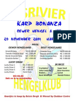 Visrivier Hengelklub - Karp Bonanza