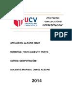 Proyecto - Traducción e Interpretación