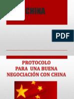 Negociaciones de China
