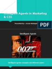 Intelligent Agents in Marketing and CSS
