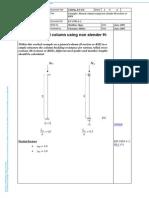 SX004a-En-EU-Example- Pinned Column Using Non Slender H-section or RHS