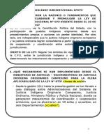 Ayuda Memoria Ley Deslinde Jurisdiccional Nª 073