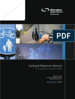 Cycling & Pedestrian Network Priority Infrastructure for Capital Works | DRAFT December 2009
