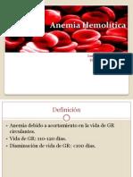 3.Anemia Hemolíticas