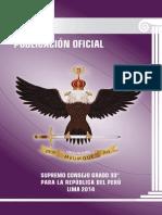 Revista Luz 2014 - Supremo Consejo Grado 33° Perú