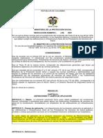 Proyecto de Resolucion 2008 - Requisitos Minimos de Infraestructura Hospitalaria