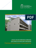 2015 Catalogo de Prácticas Profesionales e Investigativas..