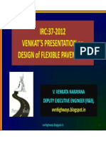 IRC 37-2012 Venkats Presentation on FlexiblePavement Design SoftCopy