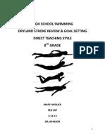 ped 307 lesson 2