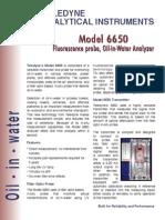 Analizador de Água Em Óleo - Aselco - Modelo 6650