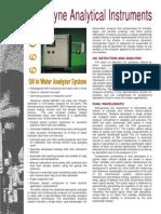 Analizador de Água Em Óleo - Aselco - Série 6600