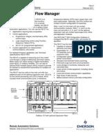 Computador de Vazão - Emerson - Floboss 107 Flow Manager