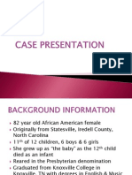 case presentation project