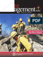 POLICY INITIATIVES IN WILDLAND FIRE