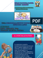Socializacion y Afectividad Del Bebe de 0- 2 Años