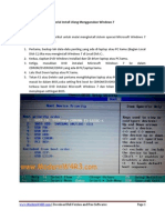 Tutorial Install Ulang Menggunakan Windows 7