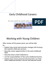 early childhood careers ppt