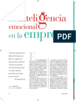 Inteligencia Emocional Revista Training Development Digest