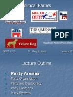 Political Parties - American Politics
