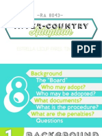 Inter-Country Adoption PDF