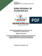 Primera Convocatoria Red Huancavelica
