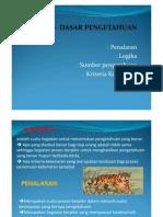 Filsafat.Dasar-dasar pengetahuan.pdf