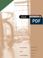 Misurare Per Governare- Benchmarking Dello Sviluppo Telematico in Provincia Di Parma