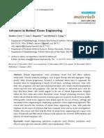 Advances in Retinal Tissue Engineering