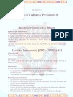 Antiguas Culturas Peruanas II
