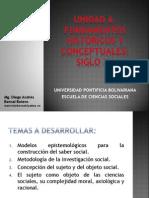 Unidad 6 Fundamentos Históricos y Conceptuales Siglo XX - Saber Social UPB