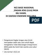 MALARIA PADA IBU HAMIL