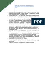La Forma de Gobierno de Los Estados Miembros de La Federacion Mexicana