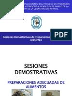 Sesiones Demostrativas