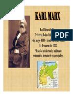 Unidad 6 Karl Heinrich Marx - Exposición Maria Camila Loaiza Bernal - Saber Social UPB