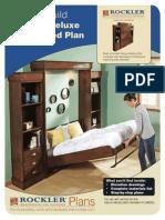 Deluxe Murphy Bed Plan Full
