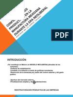 Configuraciones Productivas en La Manufactura Mexicana Durante La