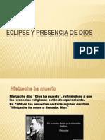 Eclipse y Presencia de Dios