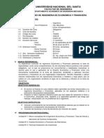 Sylabo Ingenieria Economica y Financiera 2014ii