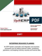 OPEN ERP Presentation