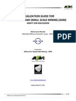 LEGALIZATION GUIDE FOR ARTISANAL AND SMALL SCALE MINING (ASM)