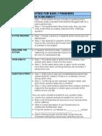 Teaching Strategies Packet