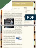 Dernières Adaptateur iPhone Kit Voiture Mains Libres - Dension