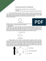 syarat-syarat senyawa aromatis