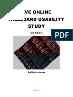 eve online killboard usability study