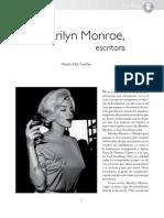 Marilyn Monroe, escritoraCasa Del Tiempo EIV Num 52-51-54