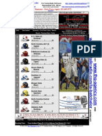 """INSIDE THE HBCU HUDDLE"" - Dr. Cavil1's 2014 HBCU Football Rankings-Week 10"