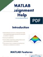 MATLAB Assignment Help myassignmenthelp.net