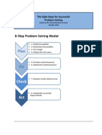 The Eight Steps for Successful Problem Solving