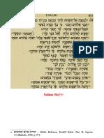 Catequese - A Prece Matutina No Sofrimento - Salmo 56(57)