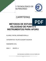 Instrumentos Para Estudios de Velocidades